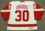 1995 CCM Detroit Home Throwback CHRIS OSGOOD Red Wings Hockey Jersey - BACK