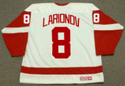 IGOR LARIONOV Detroit Red Wings 2002 Home CCM Throwback Hockey Jersey - BACK