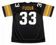 "JOHN ""FRENCHY"" FUQUA Pittsburgh Steelers 1975 Throwback Home NFL Football Jersey - BACK"