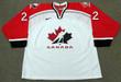 HALEY WICKENHEISER 1998 Team Canada Nike Olympic Throwback Hockey Jersey - FRONT