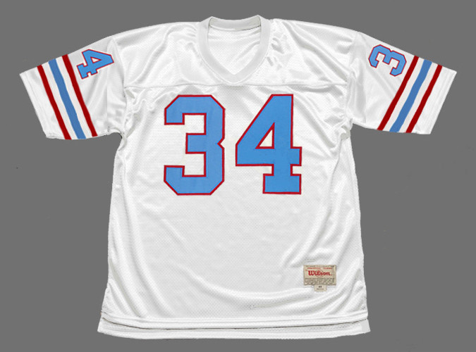 EARL CAMPBELL Houston Oilers 1980 Throwback NFL Football Jersey