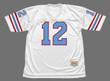 KEN STABLER Houston Oilers 1981 Throwback NFL Football Jersey - FRONT