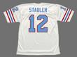 KEN STABLER Houston Oilers 1981 Throwback NFL Football Jersey - BACK