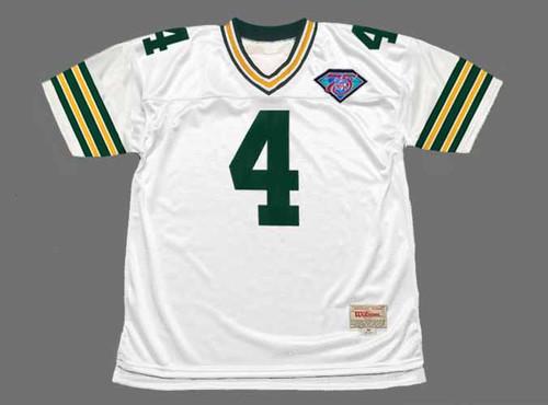BRETT FAVRE Green Bay Packers 1994 Throwback NFL Football Jersey - FRONT