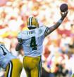 BRETT FAVRE Green Bay Packers 1994 Throwback NFL Football Jersey - ACTION