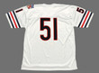 DICK BUTKUS Chicago Bears 1969 Throwback NFL Football Jersey - BACK