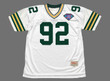 REGGIE WHITE Green Bay Packers 1994 Throwback NFL Football Jersey - FRONT