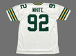 REGGIE WHITE Green Bay Packers 1994 Throwback NFL Football Jersey - BACK