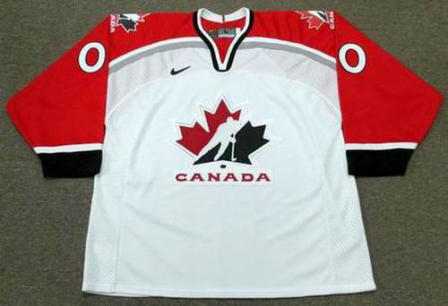 CANADA 1998 Nike Olympic Customized Hockey Jersey - FRONT