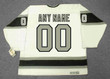 LOS ANGELES KINGS 1980's Home CCM Vintage Customized Jersey - BACK