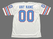 HOUSTON OILERS 1980's Throwback NFL Jersey Customized Jersey - BACK