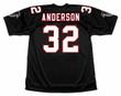 JAMAL ANDERSON Atlanta Falcons 1998 Home Throwback NFL Football Jersey - BACK