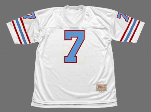 DAN PASTORINI Houston Oilers 1979 Throwback NFL Football Jersey - FRONT