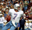 DAN PASTORINI Houston Oilers 1979 Throwback NFL Football Jersey - ACTION