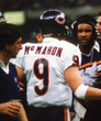 JIM McMAHON Chicago Bears 1983 Throwback NFL Football Jersey - ACTION