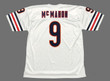JIM McMAHON Chicago Bears 1983 Throwback NFL Football Jersey - BACK