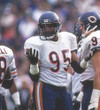 RICHARD DENT Chicago Bears 1983 Throwback NFL Football Jersey - ACTION