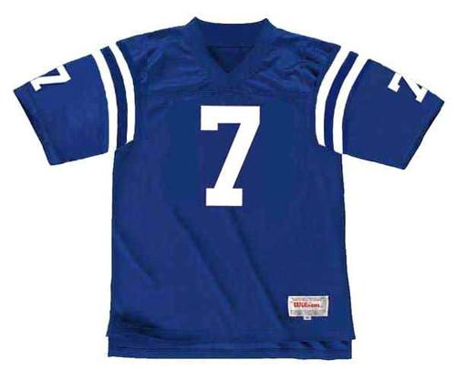 BERT JONES Baltimore Colts 1976 Throwback Home NFL Football Jersey - FRONT