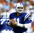 JEFF GEORGE Indianapolis Colts 1992 Throwback Home NFL Football Jersey - ACTION
