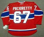 MAX PACIORETTY Montreal Canadiens 2016 REEBOK Throwback NHL Hockey Jersey