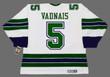 CAROL VADNAIS Oakland Seals 1968 CCM Vintage Throwback Away NHL Jersey - BACK