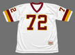 DEXTER MANLEY Washington Redskins 1982 Throwback NFL Football Jersey - FRONT
