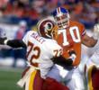 DEXTER MANLEY Washington Redskins 1982 Throwback NFL Football Jersey - ACTION
