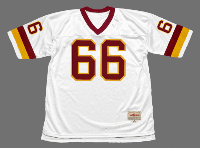 JOE JACOBY Washington Redskins 1982 Throwback NFL Football Jersey