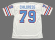 RAY CHILDRESS Houston Oilers 1988 Throwback NFL Football Jersey - BACK