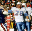 RAY CHILDRESS Houston Oilers 1988 Throwback NFL Football Jersey - ACTION