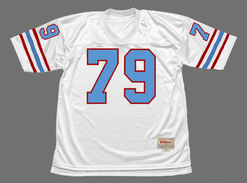 RAY CHILDRESS Houston Oilers 1988 Throwback NFL Football Jersey - FRONT