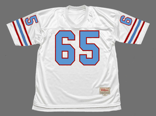 ELVIN BETHEA Houston Oilers 1979 Throwback NFL Football Jersey - FRONT