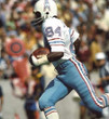 """BILLY """"WHITE SHOES"""" JOHNSON Houston Oilers 1977 Throwback NFL Football Jersey - ACTION"""