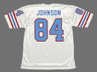 """BILLY """"WHITE SHOES"""" JOHNSON Houston Oilers 1977 Throwback NFL Football Jersey - BACK"""