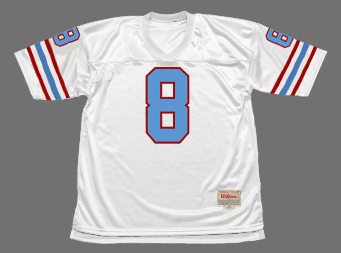 ARCHIE MANNING Houston Oilers 1982 Throwback NFL Football Jersey