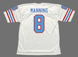ARCHIE MANNING Houston Oilers 1982 Throwback NFL Football Jersey - BACK