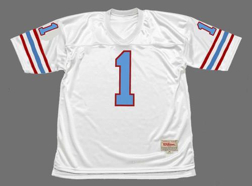 WARREN MOON Houston Oilers 1988 Throwback NFL Football Jersey - FRONT