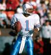 WARREN MOON Houston Oilers 1988 Throwback NFL Football Jersey - ACTION