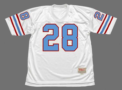 JACK TATUM Houston Oilers 1980 Throwback NFL Football Jersey - FRONT