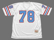 CURLEY CULP Houston Oilers 1977 Throwback NFL Football Jersey - FRONT