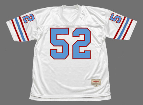 ROBERT BRAZILE Houston Oilers 1977 Throwback NFL Football Jersey - FRONT