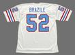 ROBERT BRAZILE Houston Oilers 1977 Throwback NFL Football Jersey - BACK