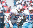 ROBERT BRAZILE Houston Oilers 1977 Throwback NFL Football Jersey - ACTION