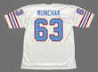 MIKE MUNCHAK Houston Oilers 1988 Throwback NFL Football Jersey - BACK