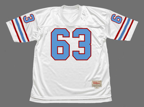 MIKE MUNCHAK Houston Oilers 1988 Throwback NFL Football Jersey - FRONT