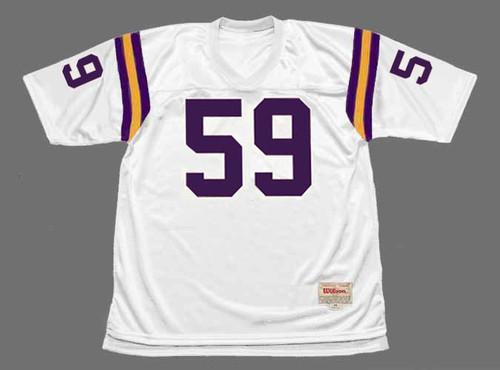 MATT BLAIR Minnesota Vikings 1979 Away Throwback NFL Football Jersey - FRONT