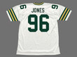 SEAN JONES Green Bay Packers 1994 Throwback NFL Football Jersey - BACK