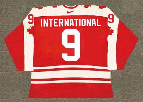 GORDIE HOWE Team Canada 1974 Nike Throwback WHA Hockey Jersey - BACK
