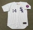 BILL MELTON Chicago White Sox 1968 Home Majestic Throwback Baseball Jersey - FRONT