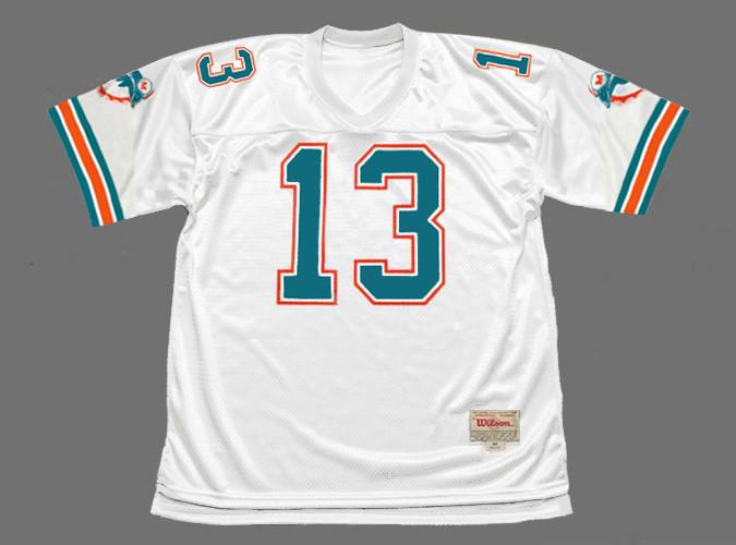 DAN MARINO Miami Dolphins 1989 Throwback NFL Football Jersey